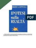 Coppola Fabrizio - Ipotesi Sulla Realtà. Fisica Quantistica e Filosofia Indiana.1995.w48.DA LEGGERE ASSOLUTAMENTE