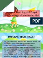 Implikasi Teori Kognitif Piaget dan Teori Vygotsky terhadap PnP