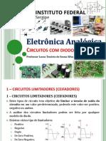 5 - Eletrônica Geral - IFS - DIODO - Limitador Grampeador Dobrador 2019-2