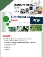 2 - Eletrônica Geral - IFS - Revisão 2019-2
