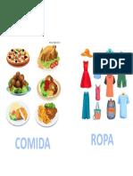 COMIDA O ROPA
