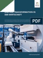 Digitale Transformation in der Wirtschaft