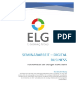 Seminararbeit Digital Business T2