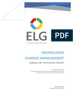 Seminararbeit Grundlagen Change Management