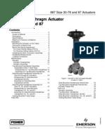 Fisher Type 667 Diaphragm Actuator