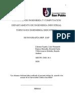 Monografía Erp Sap Revisión
