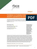 Fortalecer os Cuidados Paliativos durante a pandemia de Covid-19 Strengthening Palliative Care during the Covid-19 pandemi