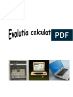 Evolutia calculatoarelor