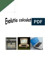 Evolutia calculatoarelor