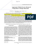 Thermal Management of Batteries in Advanced Vehicles Using Phase-Change Materials