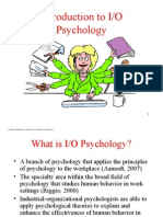 Chap 01 - Introduction to IO Psychology