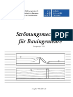 Hannover Stroemungsmechanik fuer Buingeniuere Uebungsskript, Teil I