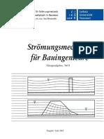 Hannover Stroemungsmechanik fuer Buingeniuere Uebungsskript, Teil II
