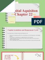 Sesi 11 - Capital Aquisition Chapter 22