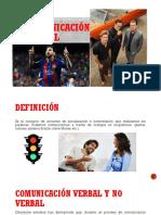 COMUNICACIÓN NO VERBAL 2020-1
