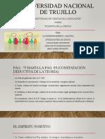 La Concepcion Empirico.analitica Ppt