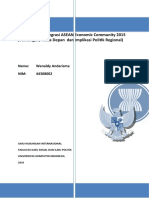 Eksistensi Kedaulatan Nasional Indonesia dalam Pengaruh Terwujudnya Integrasi ASEAN Economic Community 2015