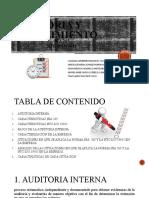 CARTILLA DE AUDITORIA