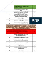 tablas trabajo entrevista y condiciones del puesto de trabajo