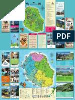 Carte Touristique de La Réunion 2021