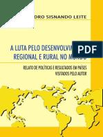 A Luta Pelo Desenvolvimento Regional e r