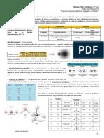 Ciências Físico-Químicas 10º Ano Ficha de Trabalho Nº6 Tipos de Ligações Químicas e Ligação Covalente