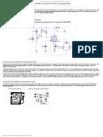 Circuito Controlador de Velocidade Do Motor PWM DC Baseado Em NE555 Com Layout PCB