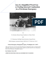 FEMA Emergency Gasifier