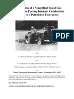 FEMA Emergency Gasifier