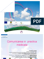 Comunicarea in Practica Medicala - Suport Curs (1)