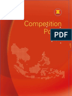 Competition Policy in ASEAN