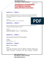 cs201 midterm solved subjective papers by moaaz