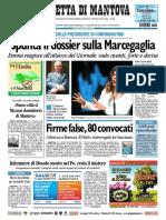 Gazzetta Mantova 9 Ottobre 2010
