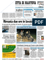 Gazzetta Mantova 12 Ottobre 2010