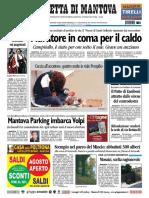 Gazzetta Mantova 16 Luglio 2010