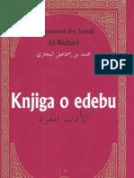 Knjiga o edebu - Muhammed ibn Ismail El-Buhari