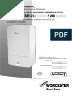 Greenstar 24i Junior/28i Junior Manual