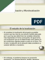 MACRO y MICROLOCALIZACIÓN