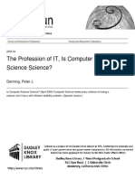 Denning - Is Computer Science Science (2005)