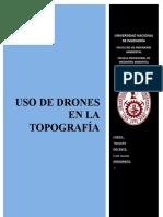 USO DE DRONES EN LA TOPOGRAFÍA - Documento (1)