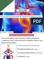 Cours anatomie fonctionnelle du Sys Cardio-vasculaire ELGOT (1)