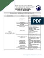PROGRAMA DE PRIMER AÑO NCR-HMPC