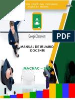 Manual classroom - Docente
