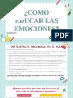como educar las emociones 2
