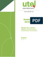 Metodos y Tecnicas Para La Administracion de Proyectos_EA_3P_HP