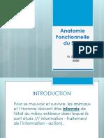 1- Dr. Derradji - Anatomie Fonctionnelle du SNC