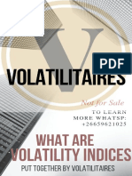Voltility Indices Trading(Volatilitaires)