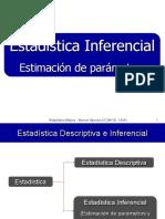 Clase 04 (Estadistica Inferencial Estimacion de Parametros)