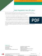 Einstufungstest_Aspekte_neu_B1plus