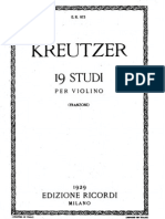 Kreutzer-19-Studies-Solo-Violin
